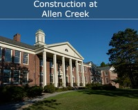 Construction at Allen Creek